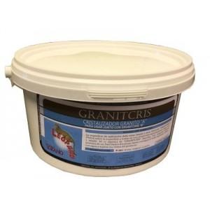 Granitcris cristalizador de granito en polvo. Productos Leopard. Producto químico.