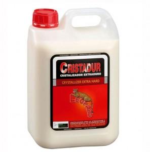 Producto de limpieza para suelos leopard Cristadur Cristalizador Extra Duro