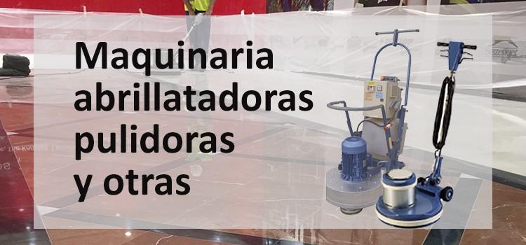 Maquinaria de limpieza de Comercial Lozano fabricantes: abrillantadora, pulidora, aspiradora, radiales. Productos Leopard.